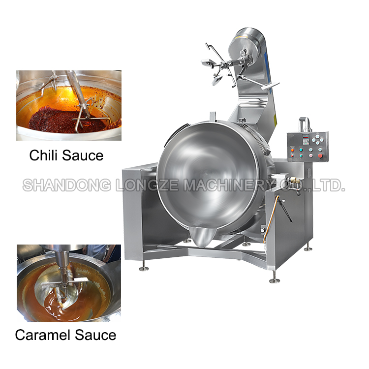 chili sauce jacketed kettle